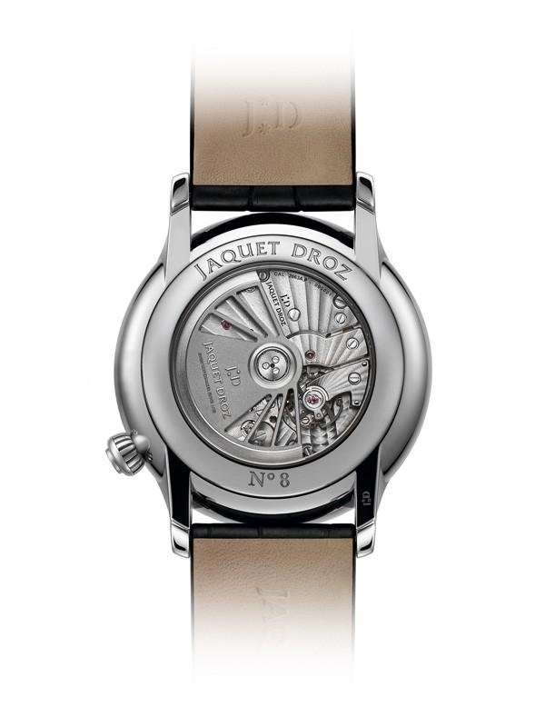 雅克德罗全新缟玛瑙偏心大秒针腕表