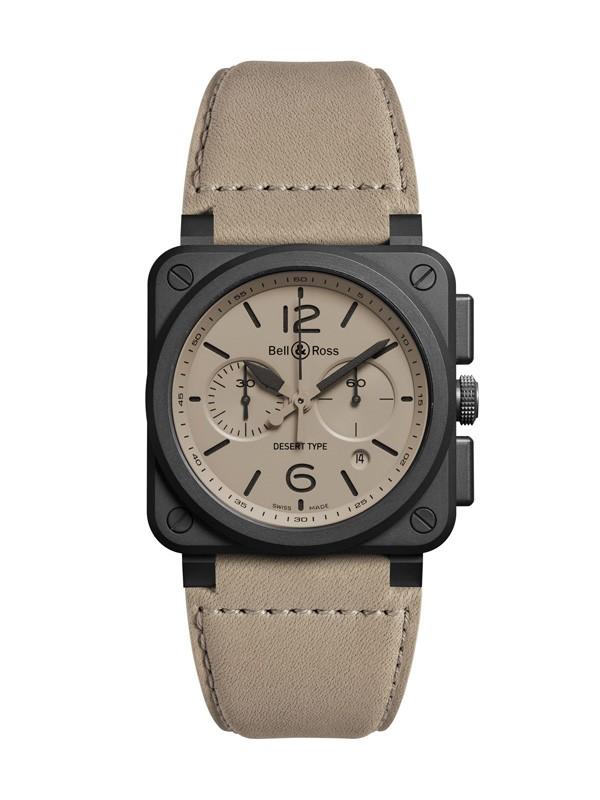 柏莱士全新BR 03 Desert Type 腕表