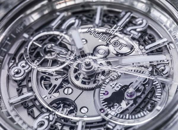 宇舶表全新Big Bang Unico蓝宝石腕表