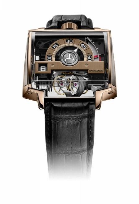 HAUTLENCE推出18K 5N+红金奢华版腕表——VORTEX 02