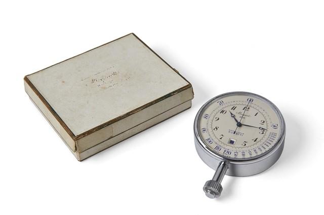 宝玑(Breguet) 古董计时码表No.2023及表盒