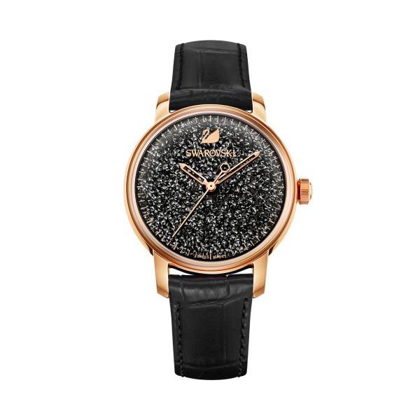 施华洛世奇首款自动机芯女式手表——Crystalline Hours
