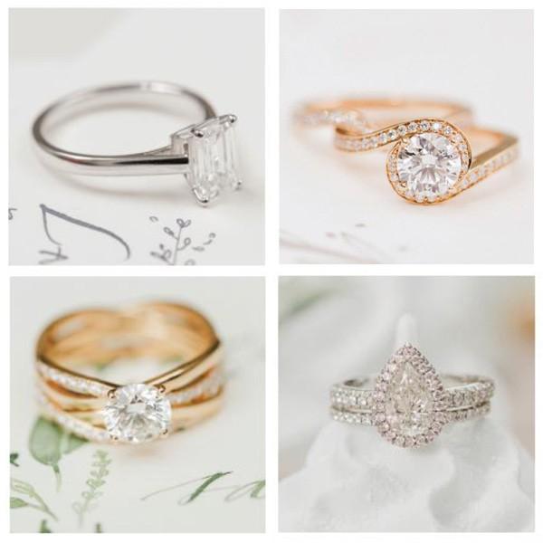 戴比尔斯订婚戒环将见证你爱情旅程的点滴