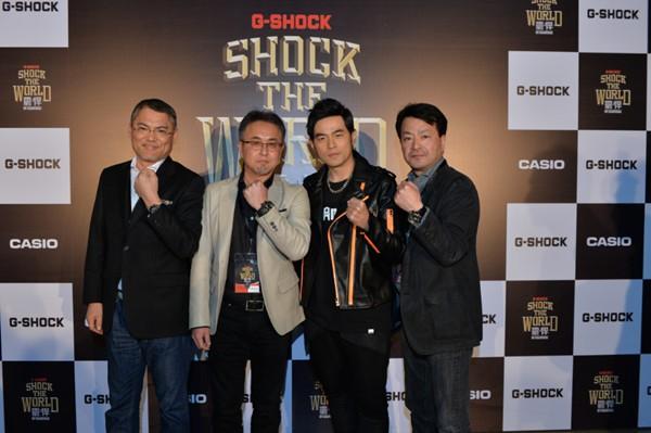 巨星出演,G-SHOCK PREMIUM LIVE震·悍演唱会
