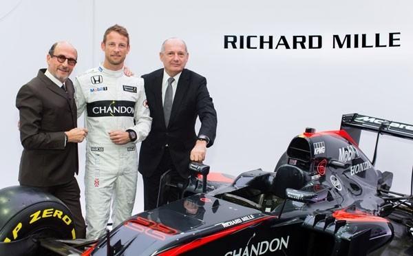 Richard Mille 宣布携手与迈凯轮-本田的十年合作