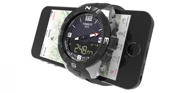 续航一年 天梭首款智能手表Smart Touch