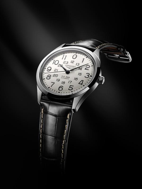 浪琴表推出经典复刻系列铁路腕表