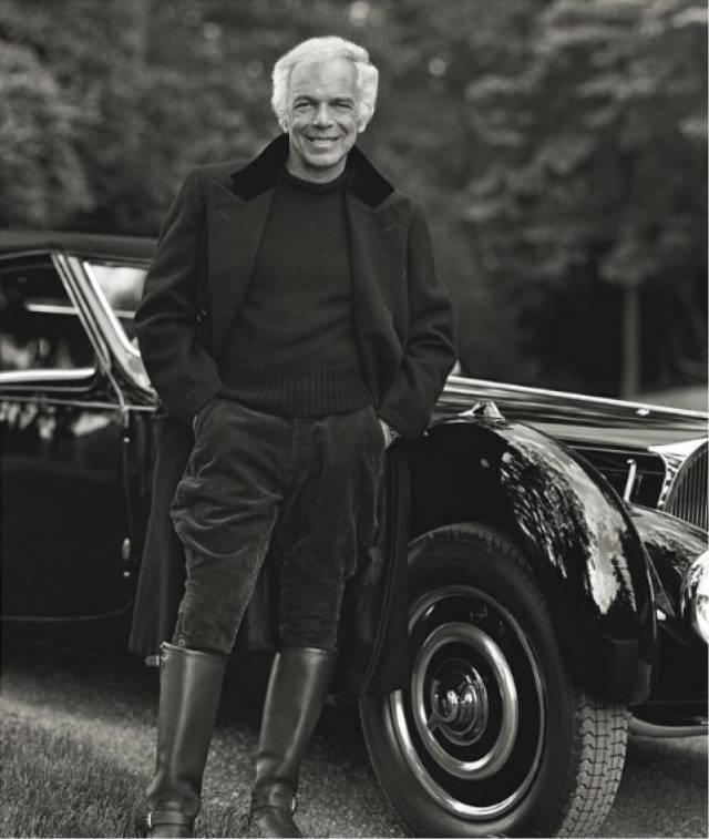 设计大师拉尔夫·劳伦将古董汽车与腕表融合在一起 呈现个性品味