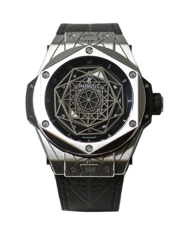 宇舶表全新Big Bang Sang Bleu 刺青腕表