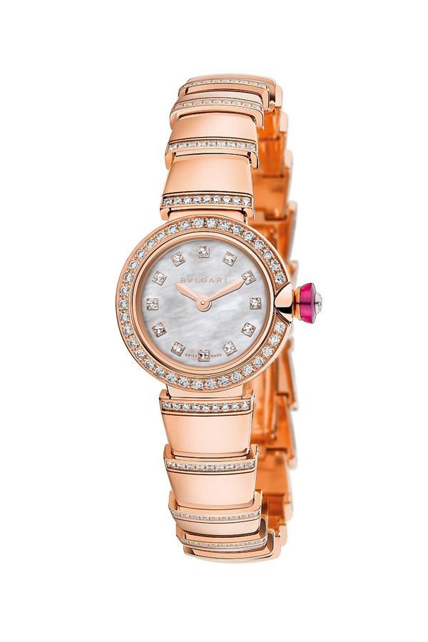 宝格丽全新LVCEA系列高级珠宝腕表