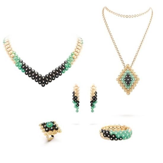 梵克雅宝全新珠宝系列 圆润的线条勾勒色彩的碰撞