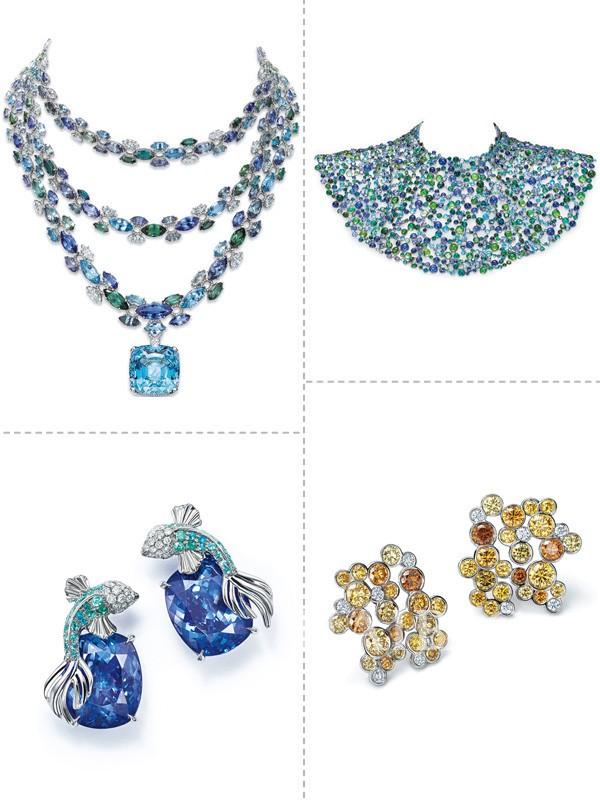 2016年蒂芙尼Blue Book高级珠宝系列 展现自然万物的幻变之韵