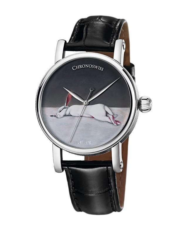 瑞宝表推出限量天狼星中国艺术家系列腕表