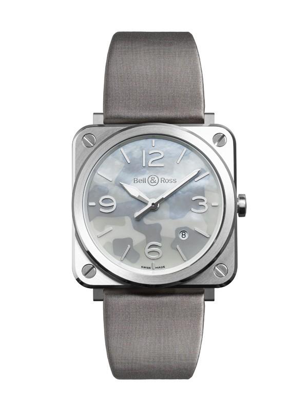 柏莱士全新 BR S Grey Camouflage 腕表