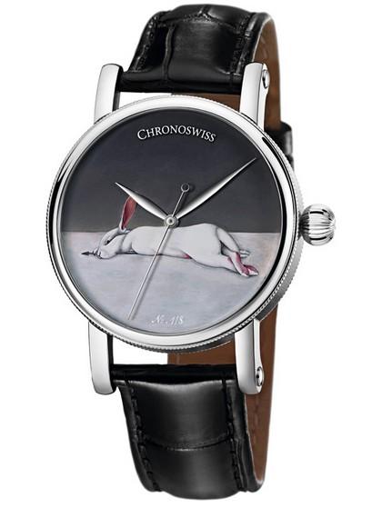 Chronoswiss瑞宝表新作:限量天狼星中国艺术家系列腕表