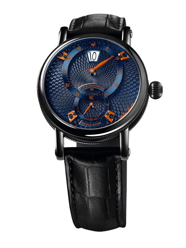 瑞宝表推出全新天狼星规范指针跳时腕表