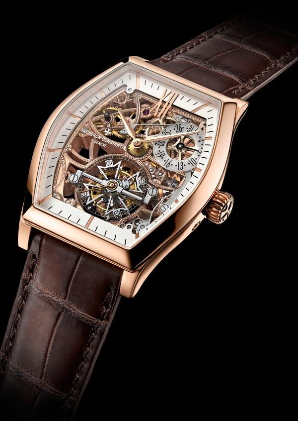 江诗丹顿全新Malte马耳他系列粉红金款腕表