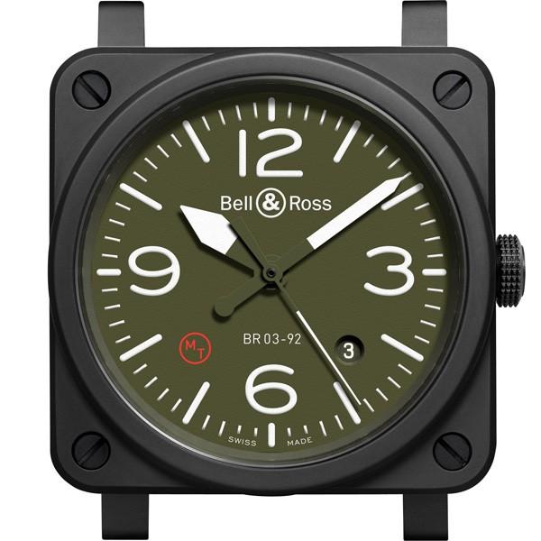柏莱士全新BR03-92 Military Ceramic 腕表