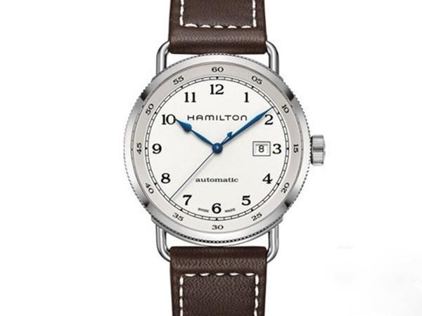 简约设计 时尚风格 三款汉米尔顿卡其海军系列腕表推