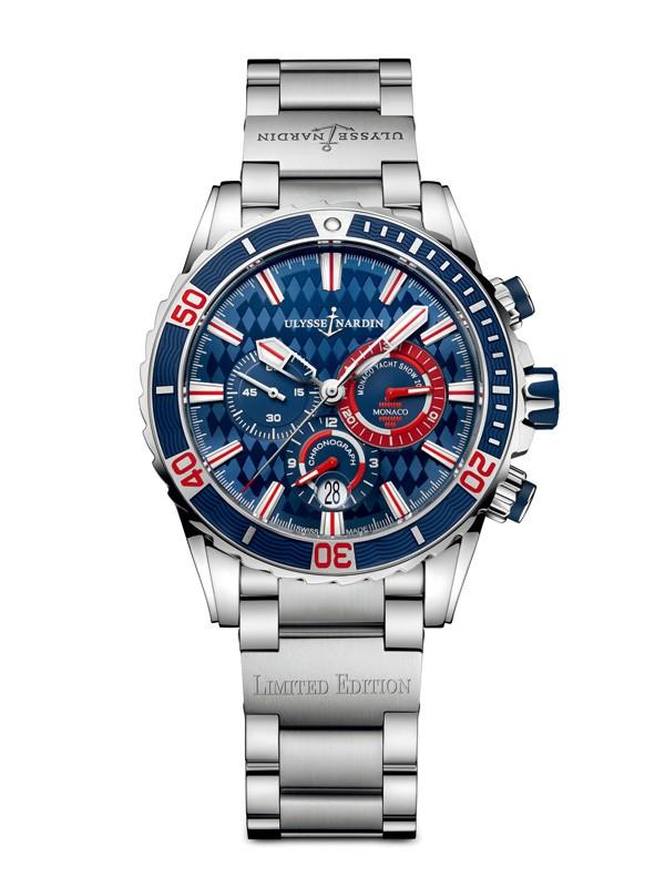 雅典表全新摩纳哥潜水计时限量腕表