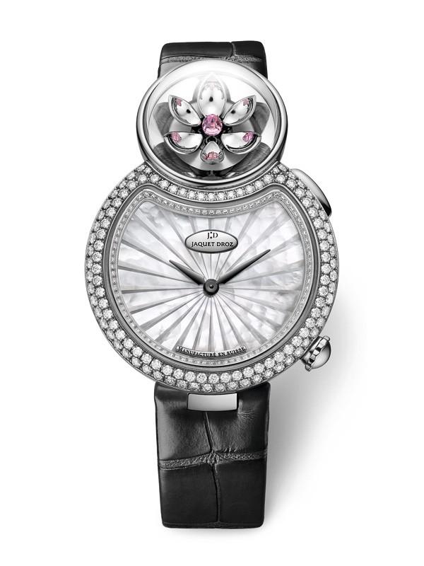 雅克德罗推出全新优雅8-花之韵腕表