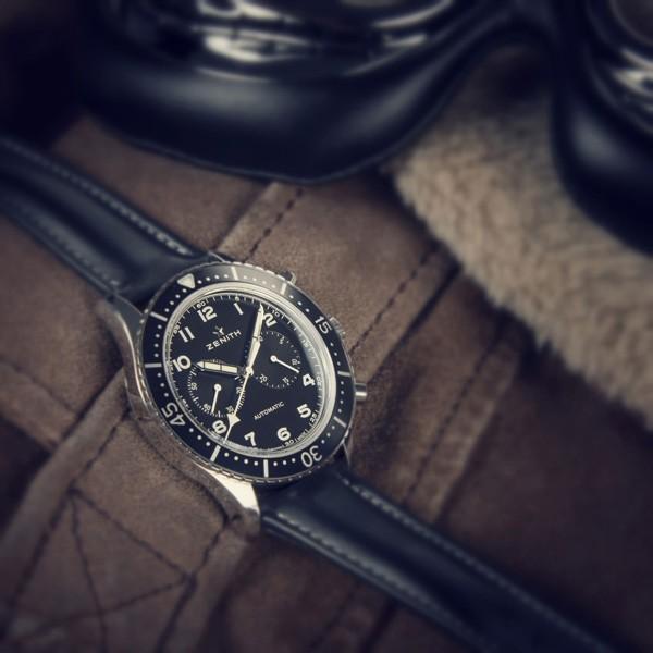 真力时传承系列TIPO CP-2计时码腕表腕表
