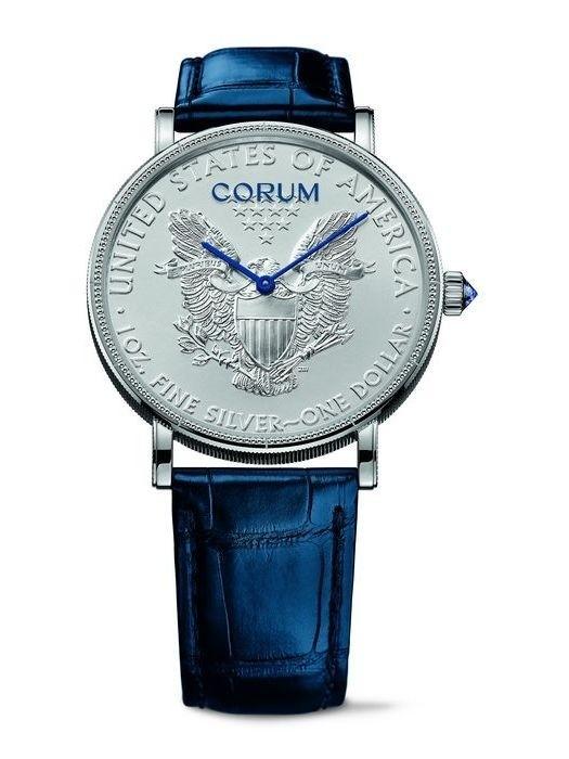 时间就是金钱:CORUM推出Heritage钱币腕表
