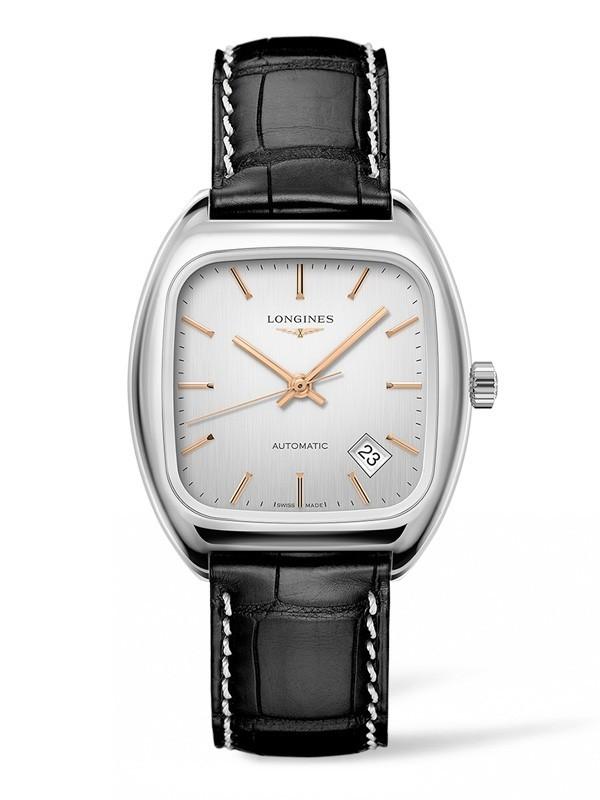 复古潮回归:浪琴表全新经典复刻系列1969枕形腕表