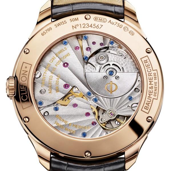 名士推出全新克里顿系列万年历腕表