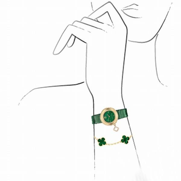梵克雅宝全新Charms系列Malachite腕表