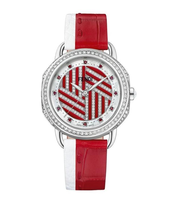 FENDI 推出全新Selleria限量版女士腕表