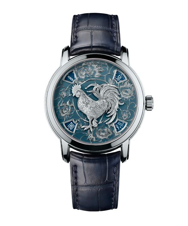 江诗丹顿推出艺术大师系列鸡年腕表