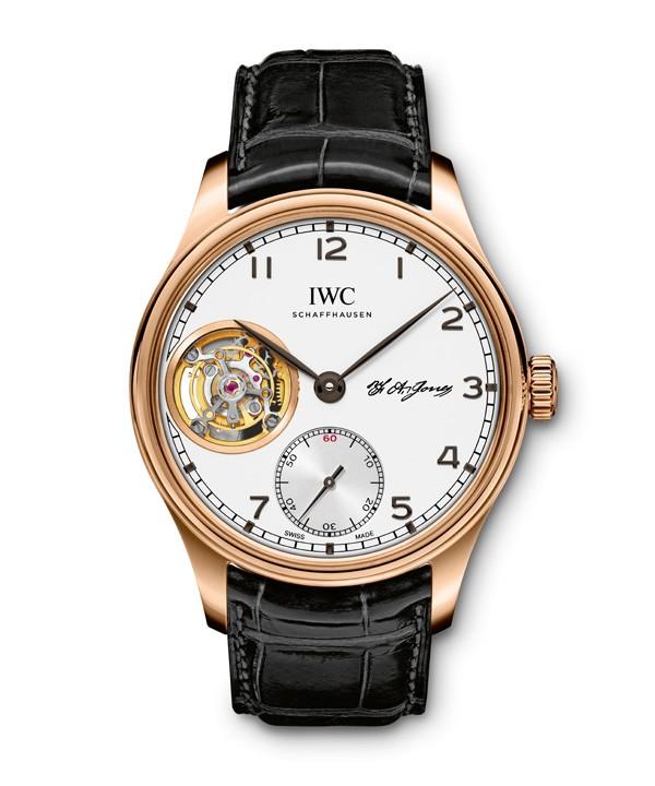 IWC万国表葡萄牙系列推出特别版腕表:陀飞轮特别版