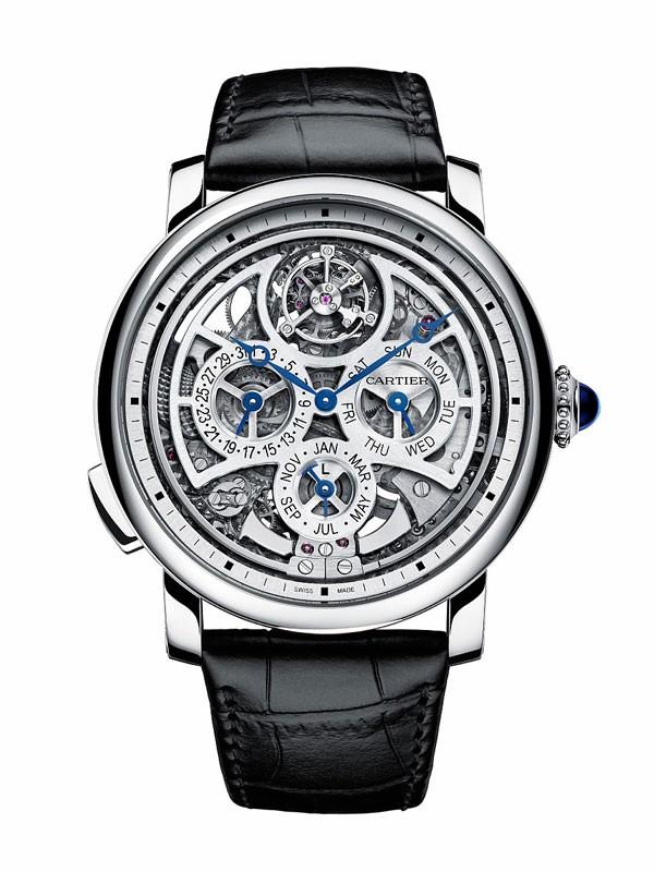 卡地亚推出Fine Watchmaking系列腕表 展现卡地亚独特的美学风格
