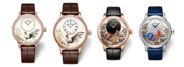 【图】雅克德罗创作四款全新腕表,致庆中国农历新年