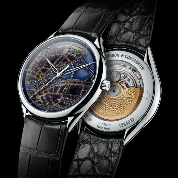 「图」江诗丹顿全新——艺术大师系列光之城腕表
