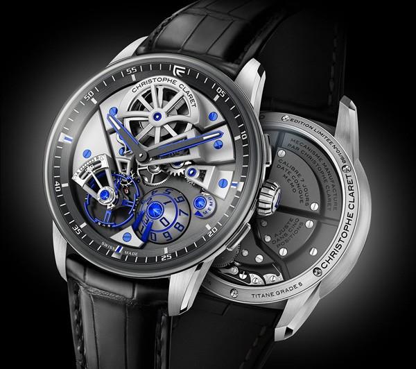 Maestro 腕表充分体现极致时尚的机械工艺