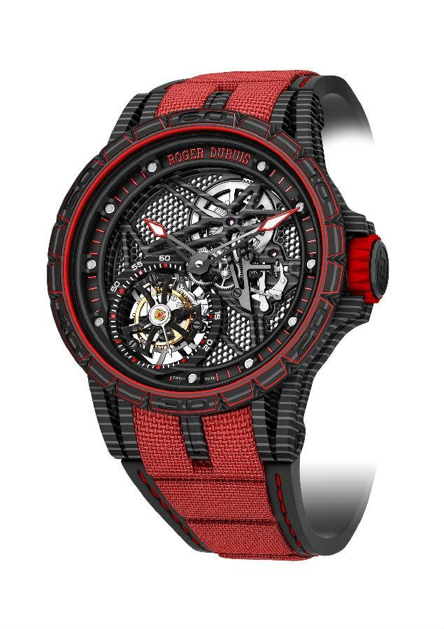 钛环_罗杰杜彼蜘蛛镂空概念手表 碳纤维手表技术参数_万表网