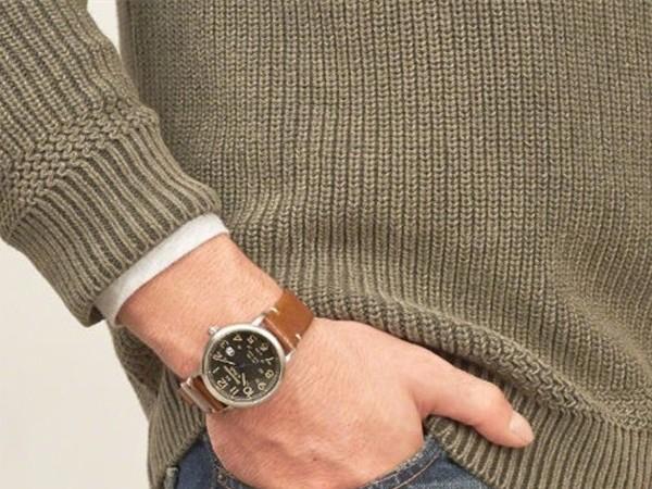 Abercrombie&Fitch 推出男士腕表,四季搭配不用愁