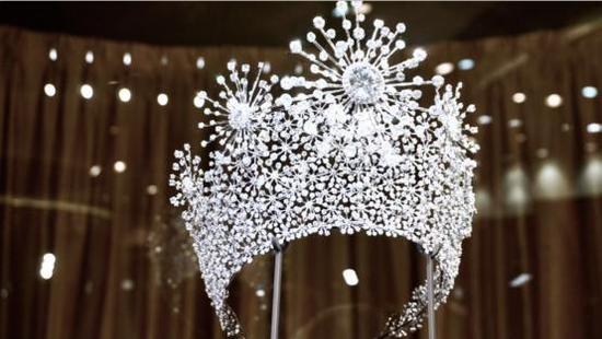 金伯利钻石展厅-《永恒之星》皇冠展示
