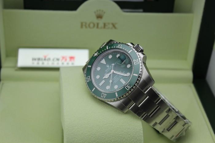 劳力士ROLEX-潜航者型系列 116610-LV-97200绿 机械男表